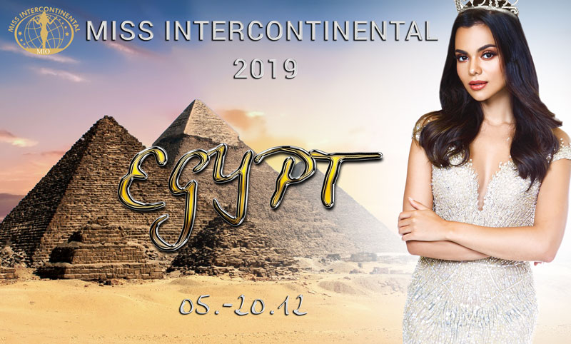Miss Intercontinental Egypt Banner