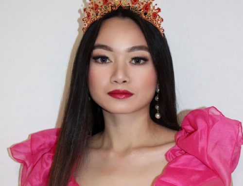 Miss Intercontinental France Cutiesha Miranda Su a
